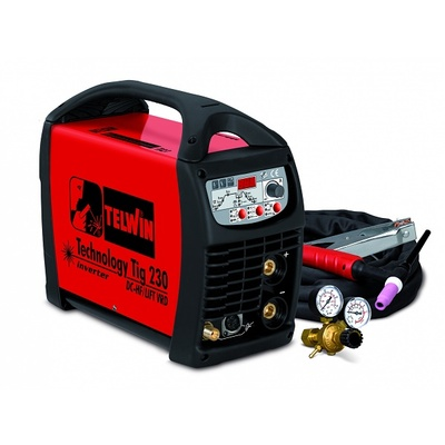 Сварочный аппарат Telwin TECHNOLOGY TIG 230 DC-HF/LIFT
