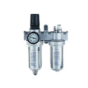 "Регулятор давления воздуха с лубрикатором и влагоотделителем 3/8"" дюйма Rotake AFRL-80"