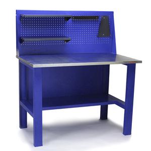 Стол для слесарных работ с экраном и комплектом навесок
