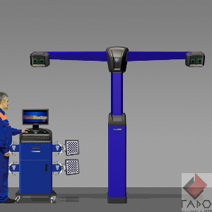 Стенд развал-схождение 3D с 4-мя камерами ТехноВектор 7 T7204 TS