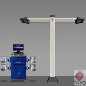 Стенд развал схождения 3D ТехноВектор 7 V7212 T5A