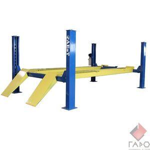 Подъемник четырехстоечный для сход-развала 5.5 тонны F5.5D-4 AE&T