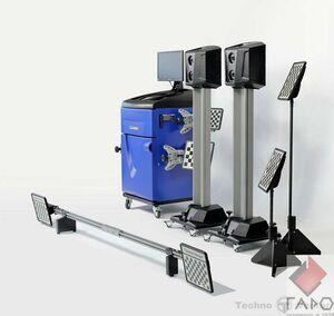 Мобильный стенд сход-развал 3D для грузовых автомобилей 7204 HT MR