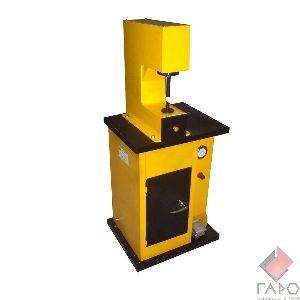 Стенд для установки фрикционных накладок тормозных колодок и выпрессовки заклепок ТТН-410